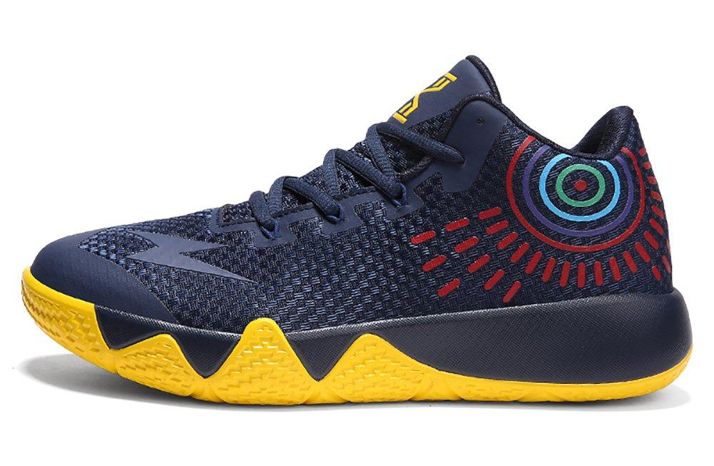 No.66 Town Couple Men's Women's Outdoor Sports Running Shoes Sneaker,Basketball Shoes B07BCZTHSZ (US)7(women's) Deep-blue