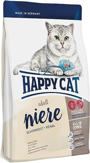 Happy Cat Fit & Well Diet Niere Kidney Comida para Gatos - 300 gr: Amazon.es: Productos para mascotas
