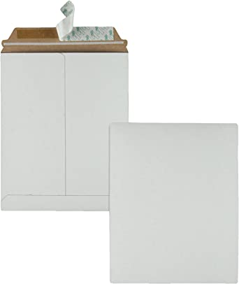 9 x 11.5 Inches, 64014 3 X Pack of 25 Quality Park Extra-Rigid Fiberboard Photo//Document Mailers