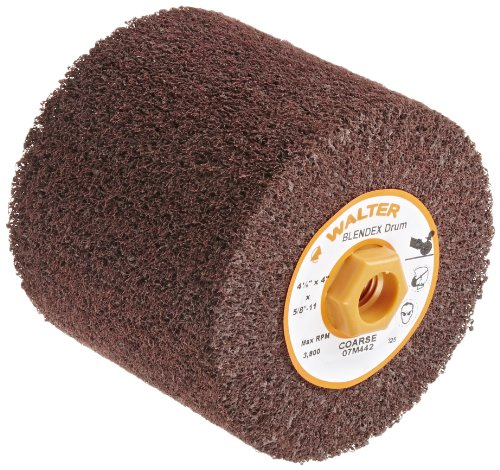 Sungold Abrasives 74904 Coarse Non Woven Surface Conditioning R-Type Quick Change Disc 2-Inch Brown 25//box