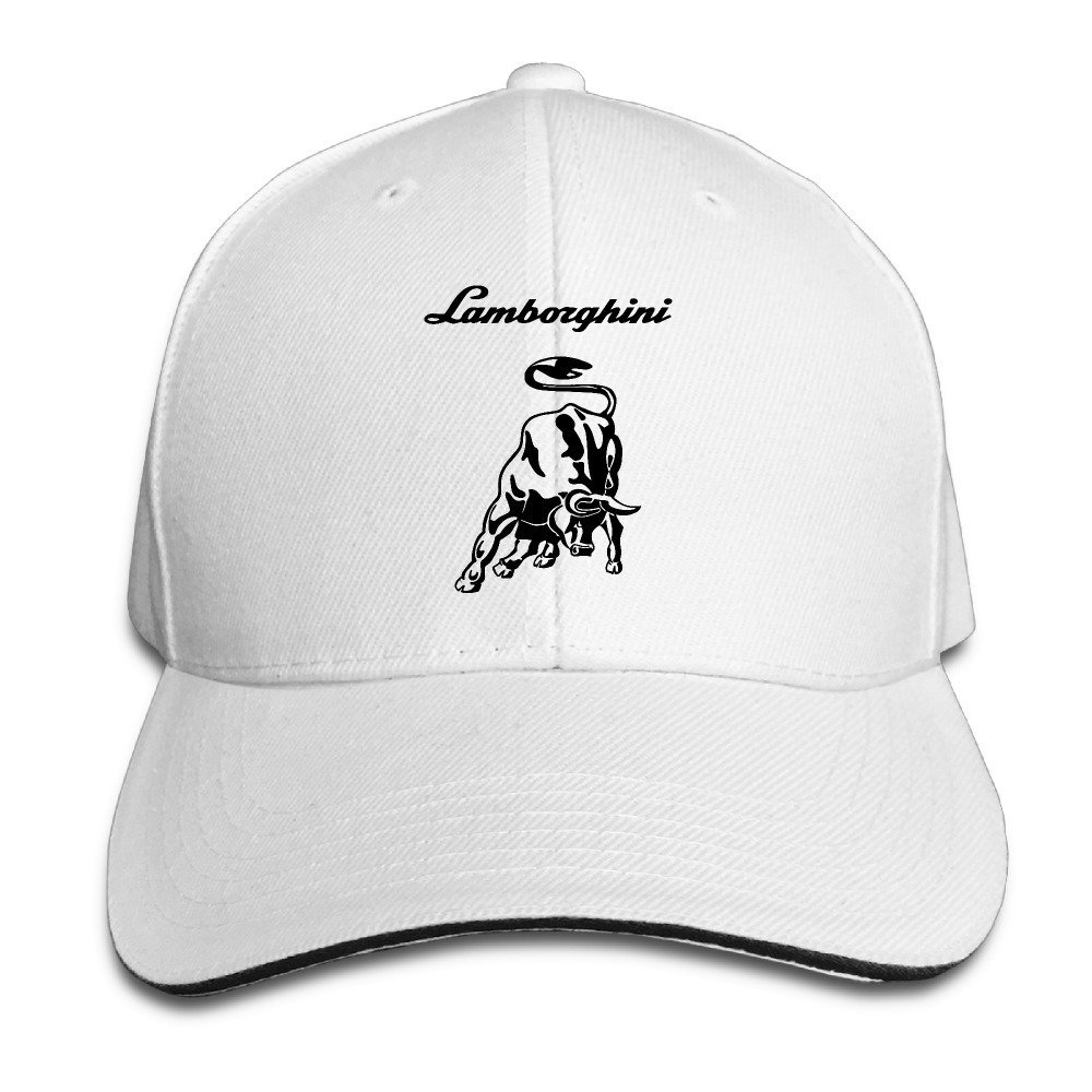 IEEFTA Lamborghini Logo Snapback Hats   Baseball Hats   Peaked Cap Apparel 1829cb28e63