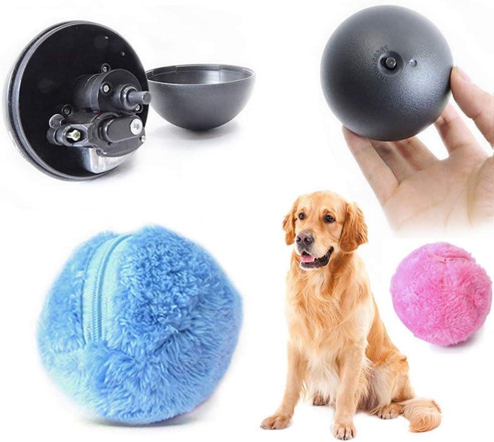 XinXun Magic Roller Ball Feature Pet Giocattolo con Pallina per Animali Domestici 4pcs Pet Dog Cat Coperta di Lana Giocattoli Educativi per Animali Magic Ball Animal