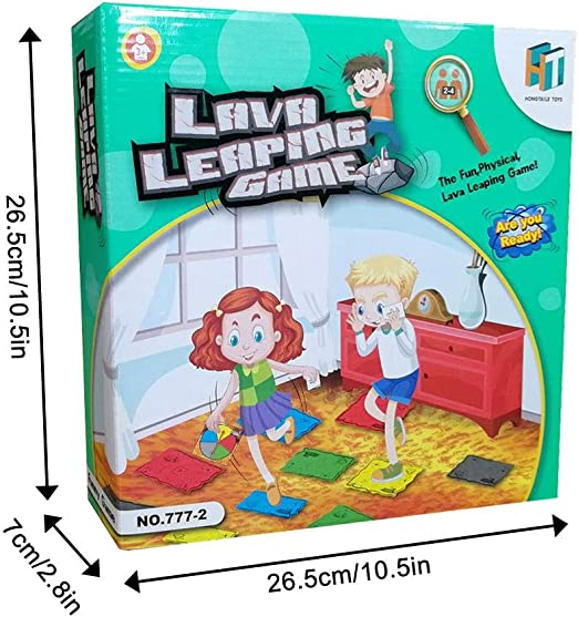 Hemistin | 2019 Nueva ACTUALIZACIÓN Volcano Childrens Rotating Card Game Card Family Party Board Game - Juego Interactivo para niños y Adultos Welcoming: Amazon.es: Hogar