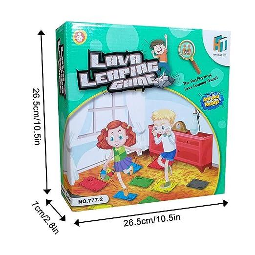 Sponsi Volcán innovador Juego de cartas giratorio para niños ...