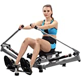 Rowing Rower Exercise Machine Folding Girls Tummy Body Movement for Home Use Simple Fitness Equipment