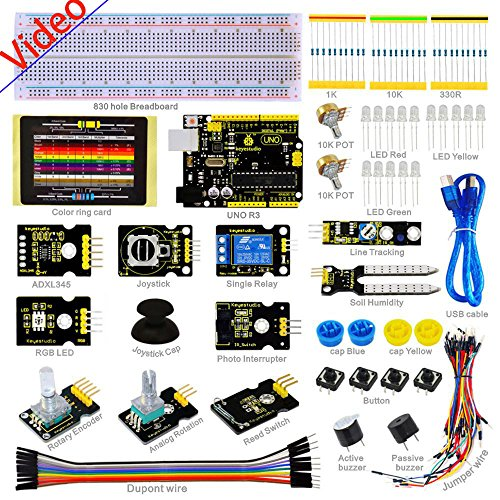 NEW!UNO Sensor Learning Kit for ARDUINO Relay LED Resistor Breadboard Jumper PDF by Aigh Auality shop