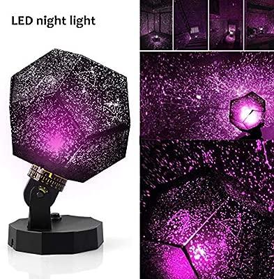 Sunnec Lámpara de proyección de luz nocturna con diseño de ...