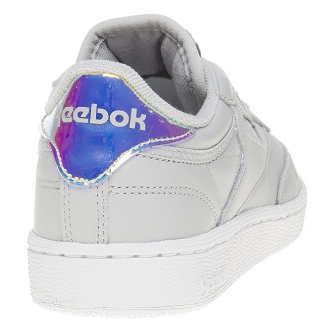 Reebok Club C 85 Iridescent Damen Sneaker Grau: