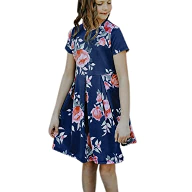 3c025c66d41 Sunward Baby Boys  Mommy And Me Dress Casual Family Outfits Summer Matching  Dress 2T Navy