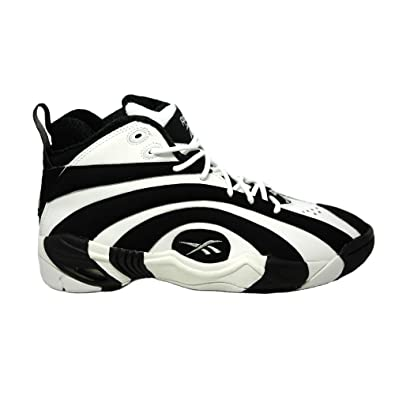 696221e5d13492 Reebok - Shaqnosis OG - Basketball - High Top - Sneaker - Black White   Amazon.co.uk  Shoes   Bags