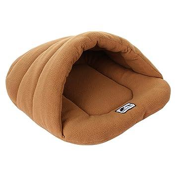 Premewish Saco de Dormir Cat, Nido de Abeja para Animales de Compagnia Suave y Suave