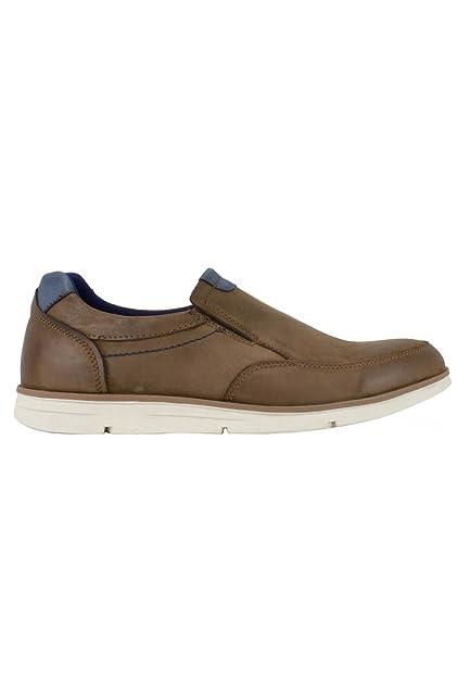 zapattu Baerchi - Zapatos Sin Cordones Marrón - Marrón, 40
