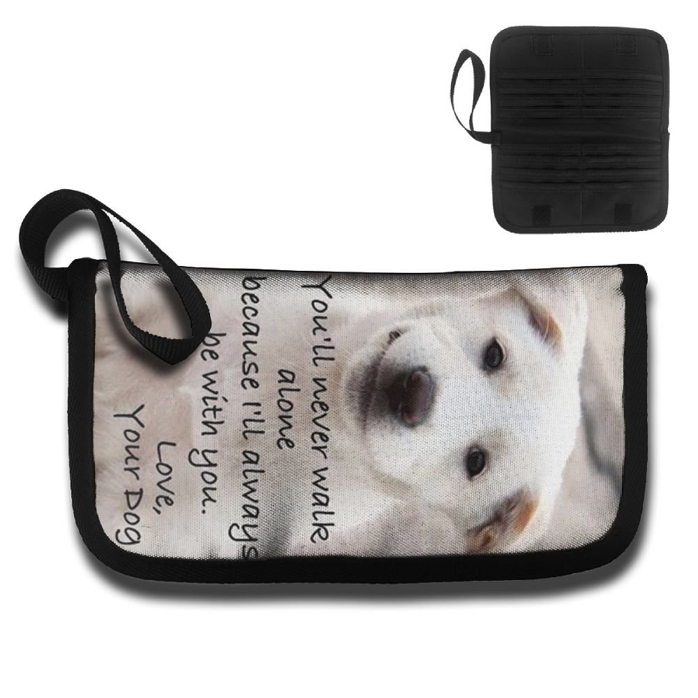 Love Dog Motivational Travel Wallet Passports Holder Document Organizer Card Package