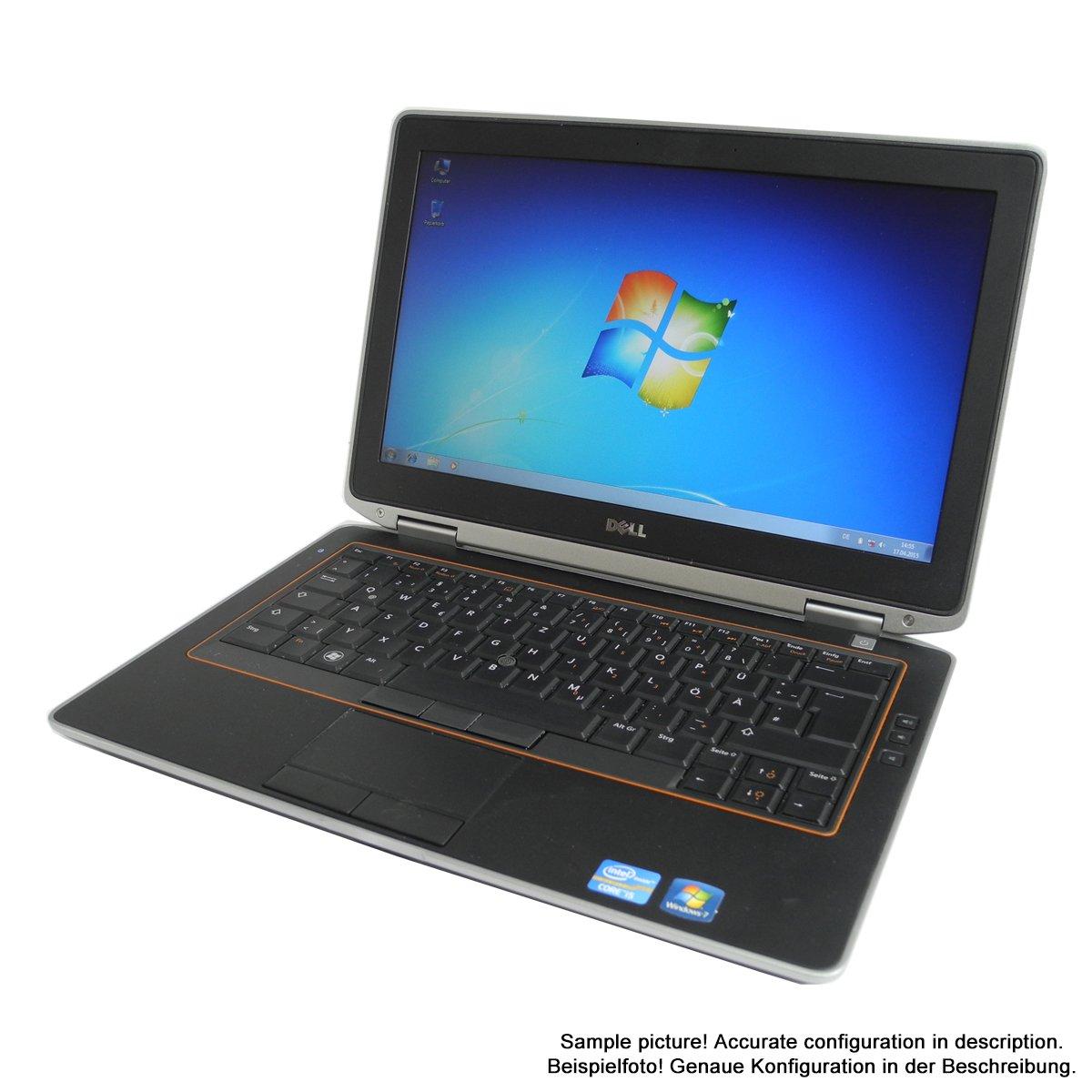 DELL Latitude E6320 34 cm (13,3) Ordenador Portátil (Intel Core i5 2.5 GHz, 4 GB RAM, 160 GB HDD, DVD, Win7 Pro): Amazon.es: Informática