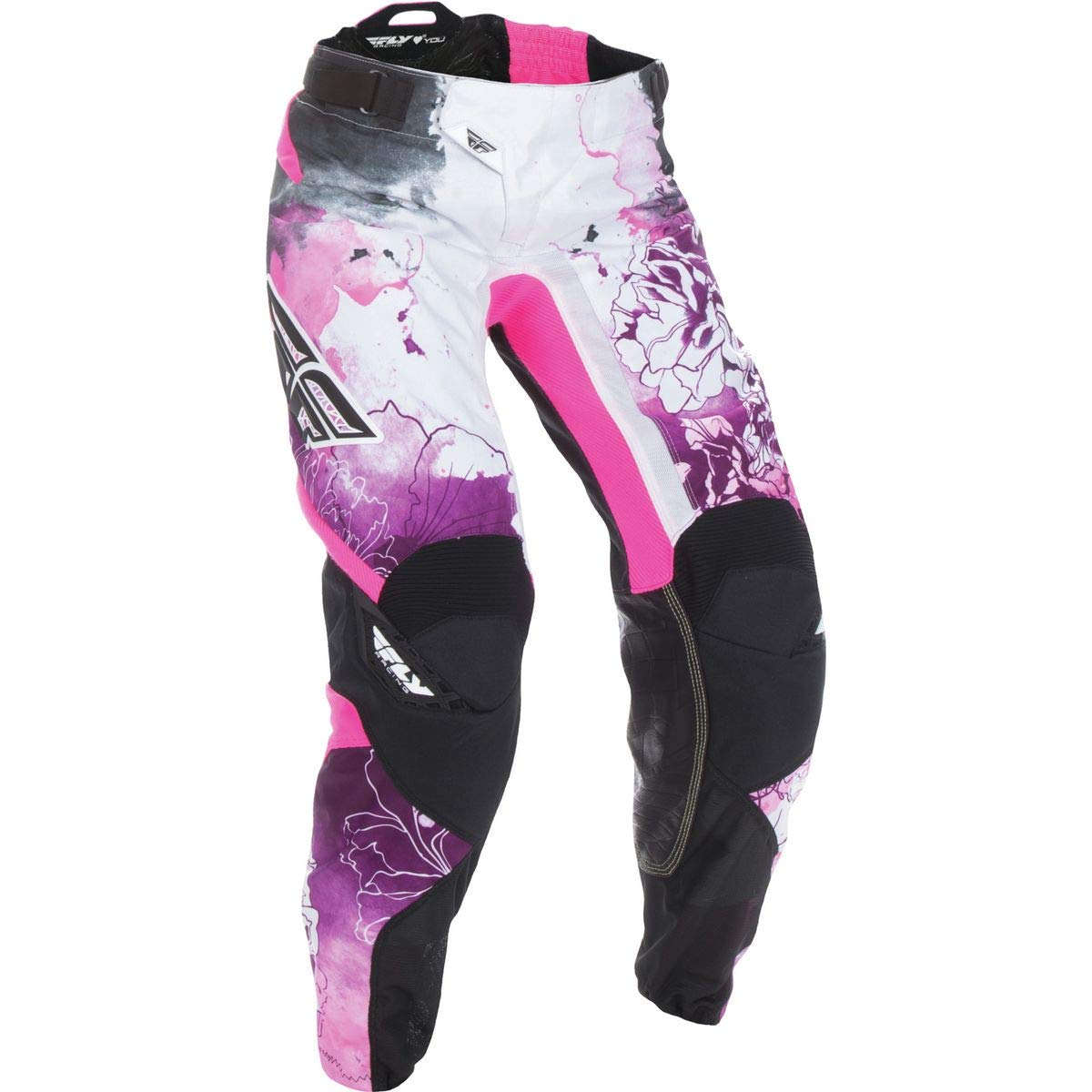 Fly Racing Unisex-Adult Kinetic Women's Race Pants (Pink/Purple, Size 78) by Fly Racing