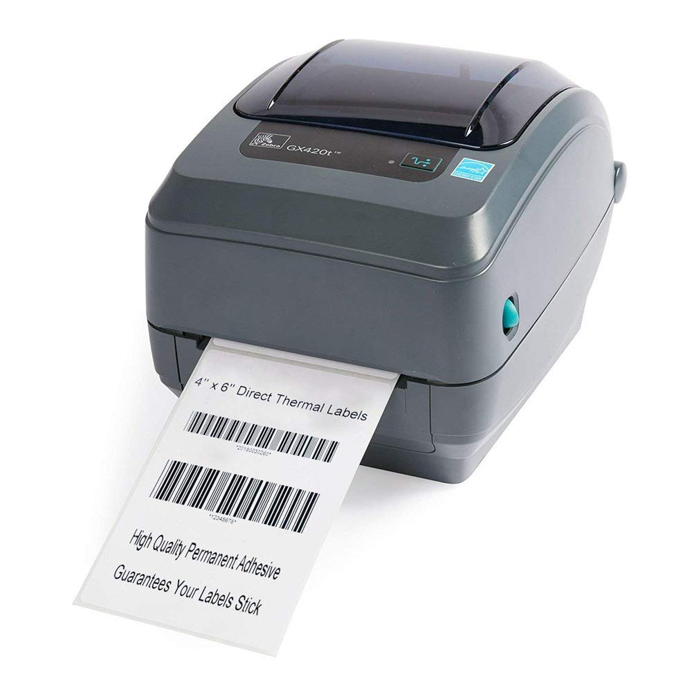 Ymayby 500 Labels Thermal Labels 6x 4 for Direct Thermal Printer GK420D GK420T LP2844 Address Labels for Packaging Envelopes LP2824 GX420D