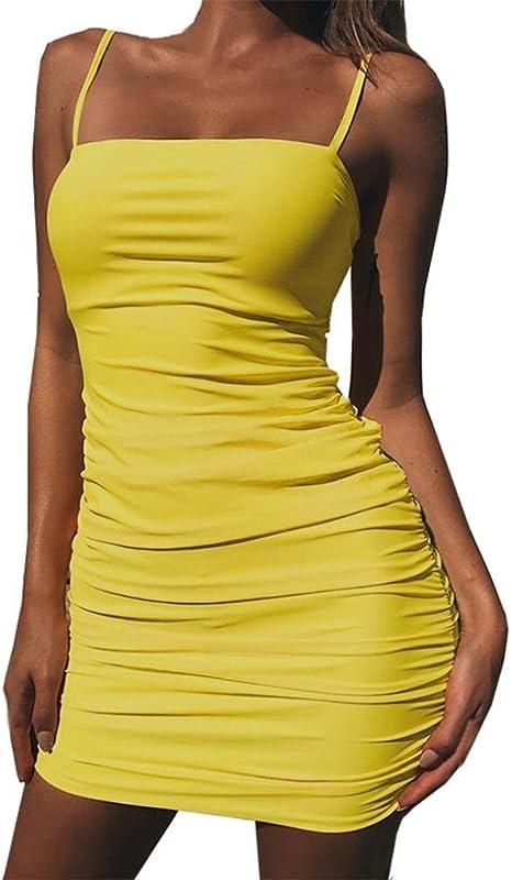 Da Donna Clubwear Minigonna Backless partito abito da cocktail Bodycon Halter abito estivo