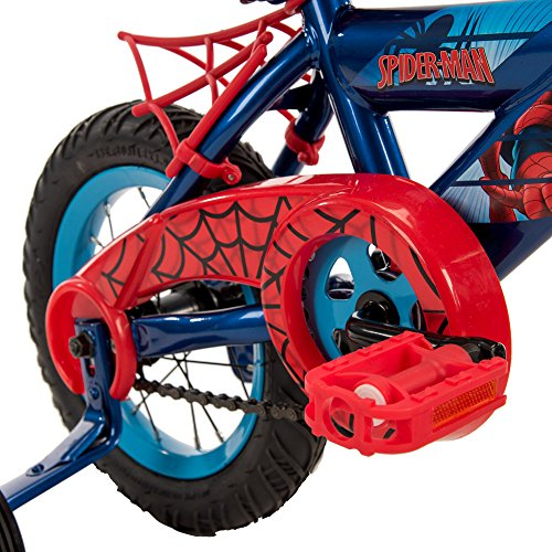 12'' Marvel Spider-Man Boys' Bike by Huffy Blue/Red by Huffy (Image #4)