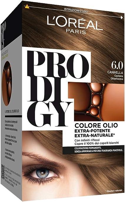 L Oréal Paris, Prodigy - Coloración permanente 6 Cannella Castano Chiarissimo