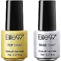 Digital Shoppy 7ml Base&TOP Coat Gel Varnishes Soak Off UV Nail Polish