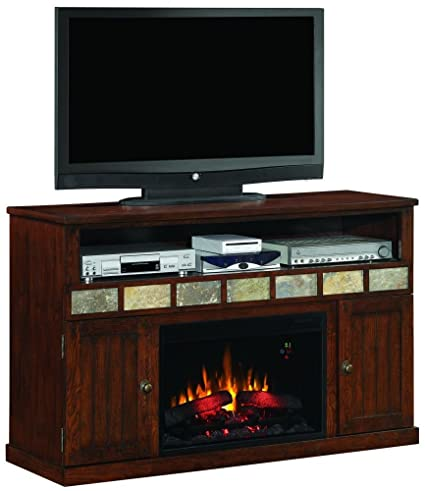 Amazon Com Classicflame 26mm1754 O107 Margate Tv Stand For Tvs Up