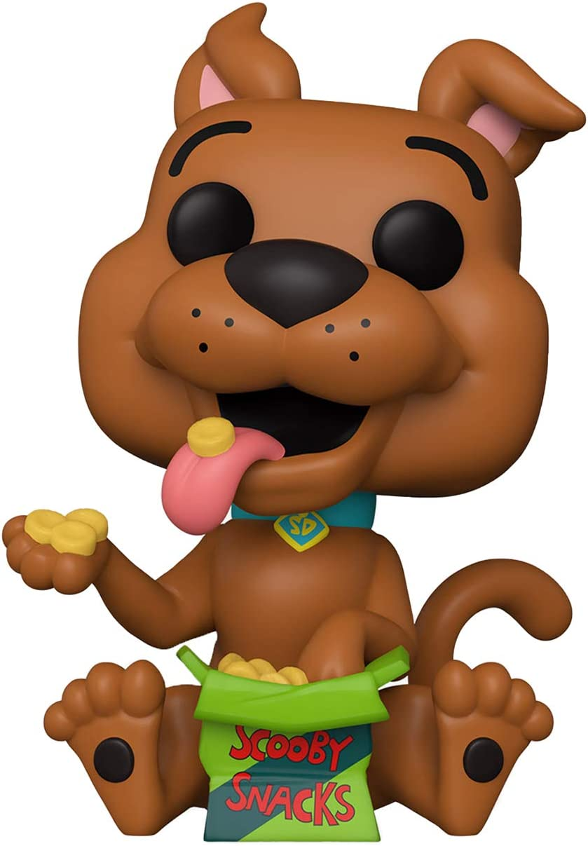 Funko Pop! Scooby-Doo #843 Scooby-Doo with Box of Scooby Snacks Exclusive