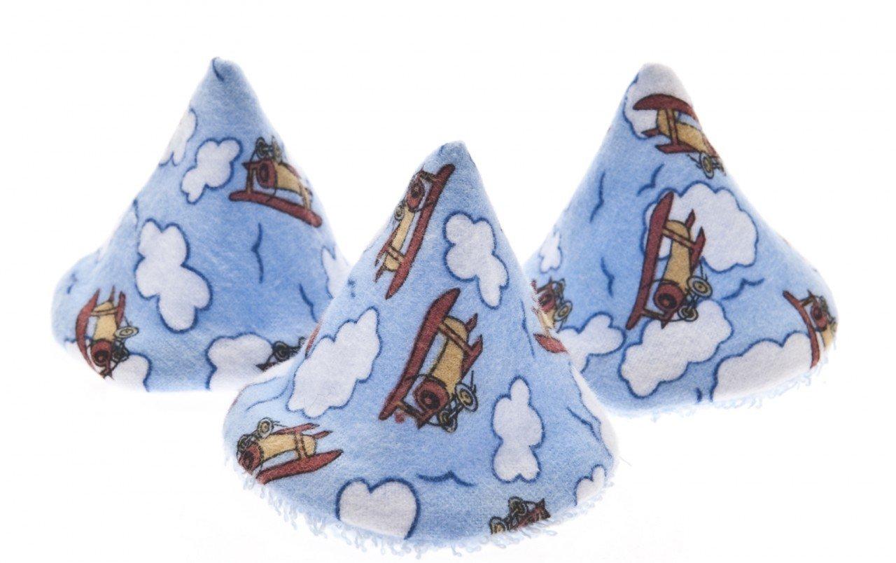 The Peepee Teepee for the Sprinkling WeeWee: Airplanes in Cellophane Bag Beba Bean -9551