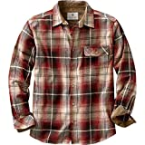 #6: Legendary Whitetails Men's Buck Camp Flannel Shirt