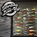 Wraptor Tackle Roll 'Starting Line-Up' - Fishing Tackle Storage Organizer
