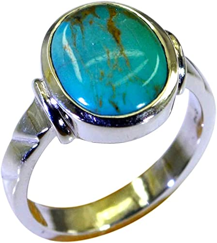 Natural Gemstone 925 Silver Ring Oval Birthstone Handcrafted Size 4,6,8,10,11,12