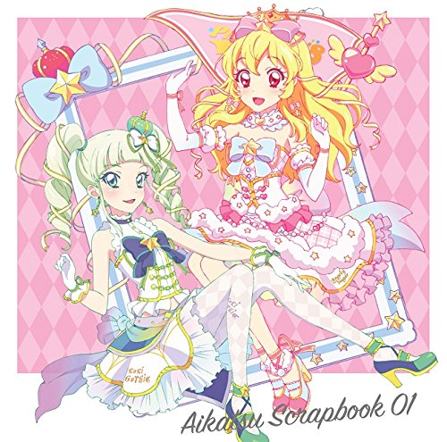 スマホアプリ『アイカツ!フォト on ステージ!!』スプリットシングル AIKATSU SCRAPBOOK 01