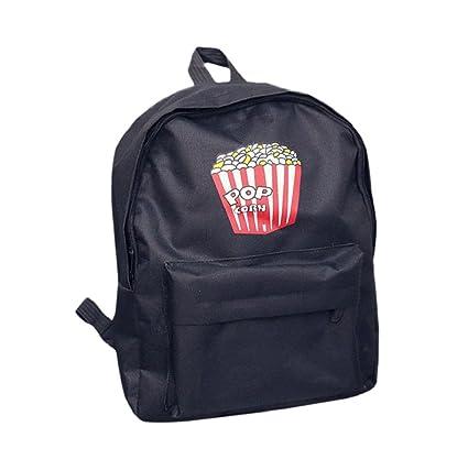mochilas escolares juveniles - Sannysis pequeño bolsos de mujer verano (negro)