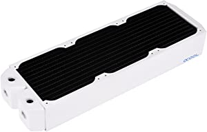Alphacool 14194 NexXxoS UT60 Full Copper 360mm Radiator - White Special Edition Water Cooling Radiators