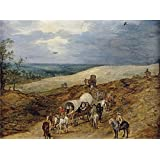 Canvas Prints Of Oil Painting ' Brueghel The Elder Jan Paisaje Con Galeras 1603 ' , 24 x 32 inch / 61 x 82 cm , High Quality Polyster Canvas Is For Gifts And Garage, Hallway And Kitchen Decoration