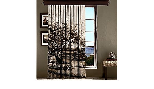 Van Gogh - el personaje de jardín en Nuenen cortina Blackout de calcetines de Navidad, multicolor, 140_x_220_cm: Amazon.es: Hogar