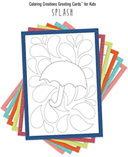 coloring creations greeting cards for kids splash with scripture - Cards For Kids To Color