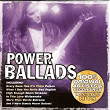 Power Ballads - Pure Gold Hits 100% Original Artists & Recordings