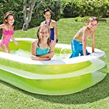 "Intex 56483EP  Swim Center Family Inflatable Pool, 103"" X 69"" X 22"""
