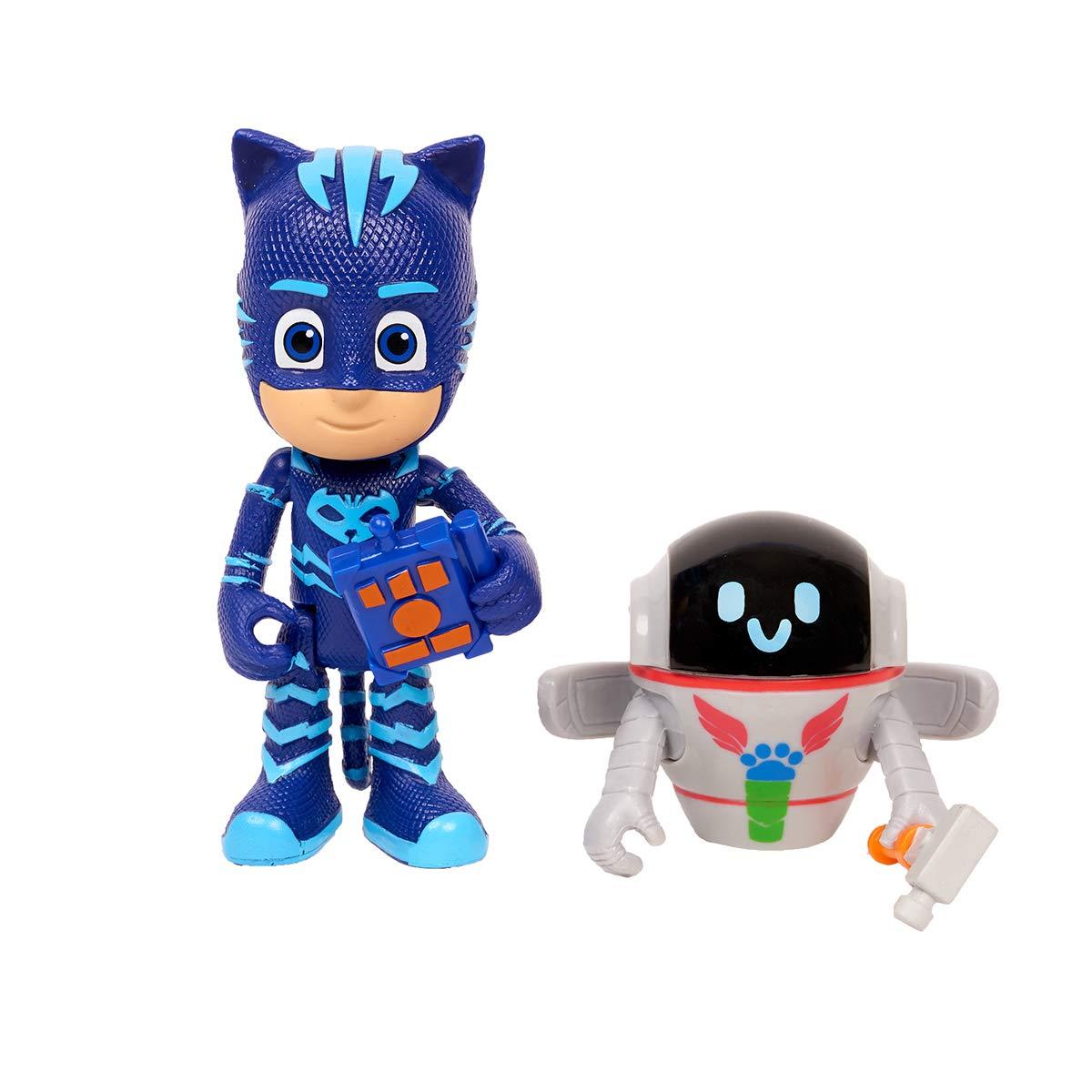 PJ Masks Figuren Set Catboy + PJ Robo : Amazon.es: Juguetes y ...