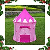 Adorox Pink Princess Castle Play Tent Childs Kid House Girl Fairy House New (Pink Fairy House)