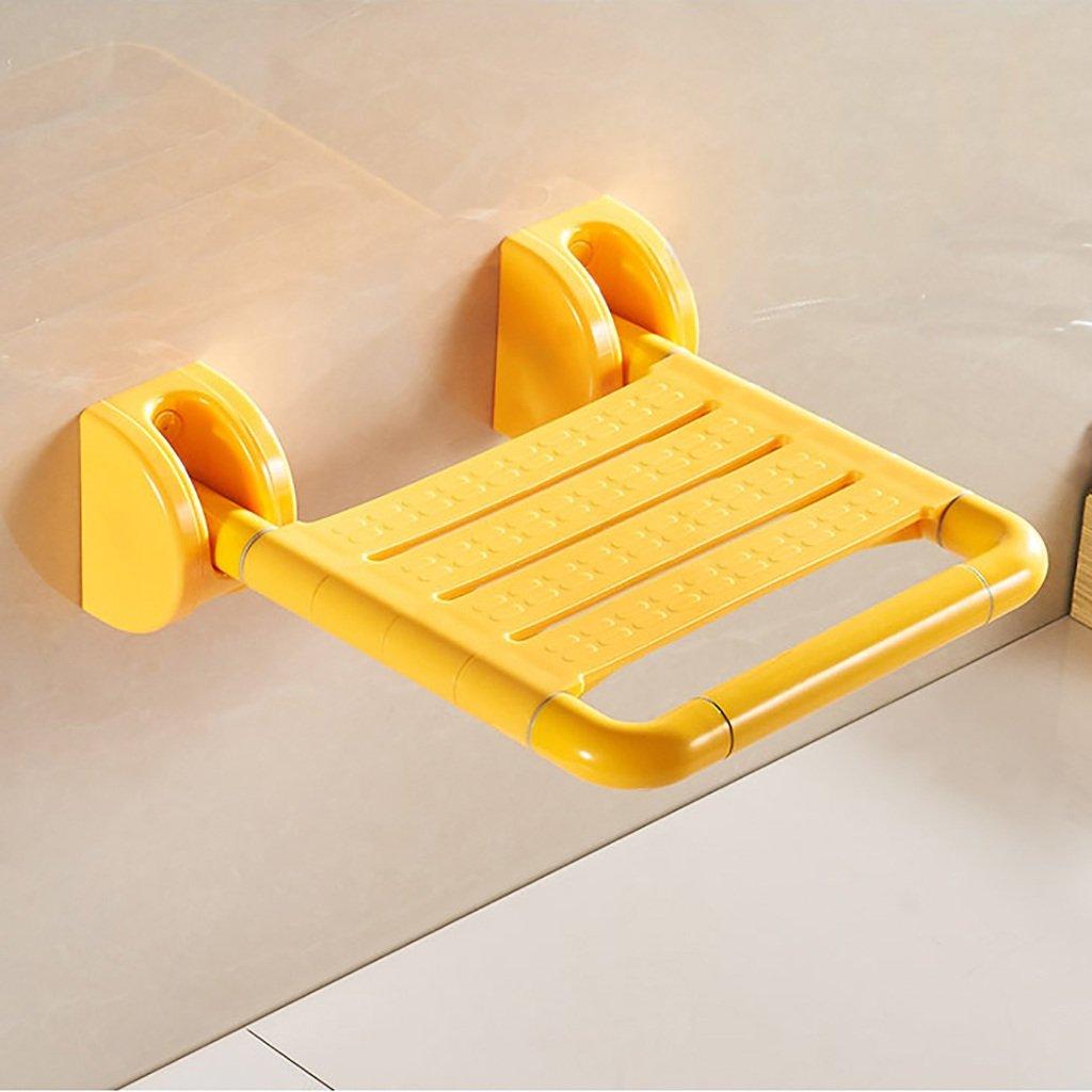バスルームのスツールの折り畳み式の壁の椅子障害者、高齢者、子供たち安全スリップバススツールトイレとシャワー用品 (色 : 1) B07DTZXKFC  1