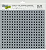 The Crafter's Workshop TCW792 12'' x 12'' Micro Dots Template, Multicolor