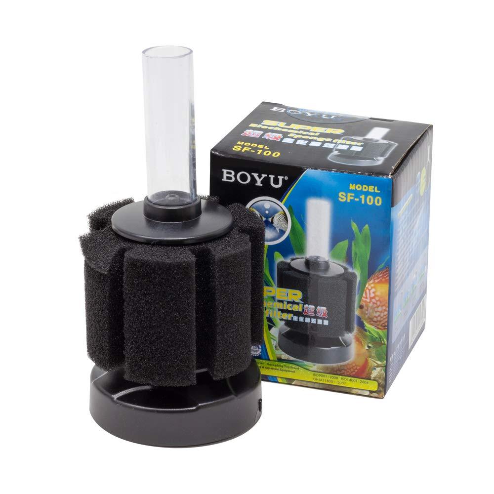 Boyu - Depósito para Acuario con Filtro de Esponja bioquímica: Amazon.es: Productos para mascotas