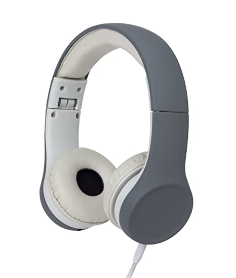 Review Snug Play+ Kids Headphones Volume Limiting and Audio Sharing Port (Grey)