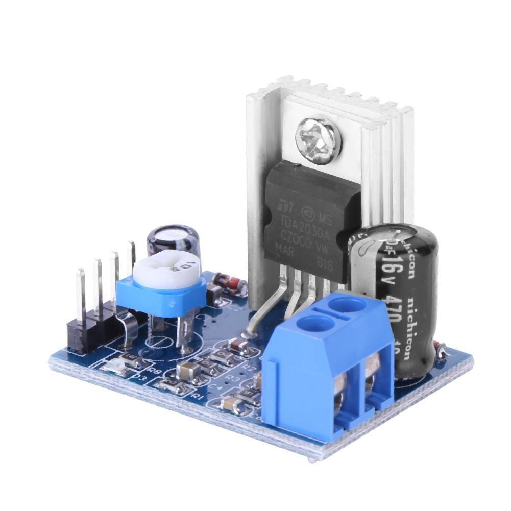 Asiproper TDA2030A amplificatore audio consiglio modulo 6–12V 18W mono modulo di alimentazione
