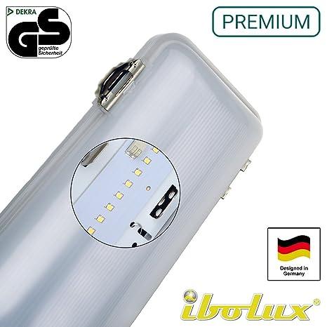 50 W no corrosivo LED luz anti corrosión LED tubo (Batten (121,92 cm 120 cm fluorescentes (IP66) con montaje para lámpara de techo LED garaje luz ...