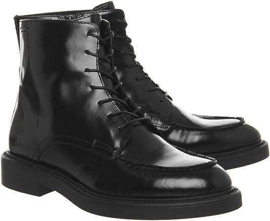 Vagabond Alex Lace Boot Black Polish