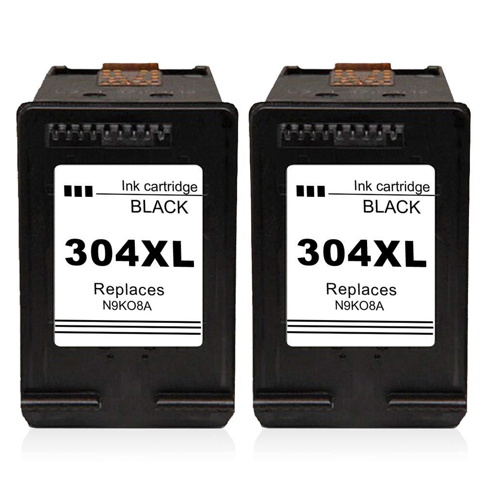 Kyansin Remanufacturado HP 304 XL HP304 Alto Rendimiento Cartuchos de Tinta (N9K08A) Compatible con HP Deskjet 2600 2620 2622 2630 2632 2633 2634 HP ...