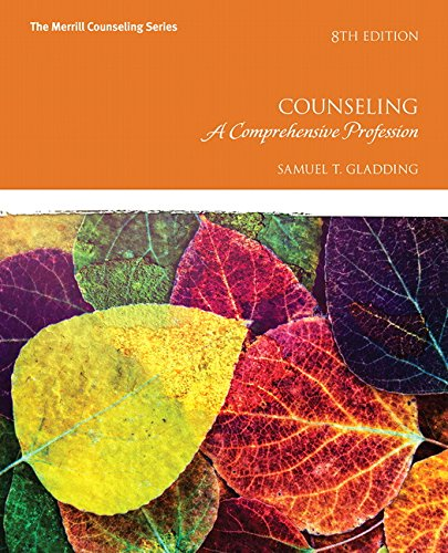 013446060X - Counseling: A Comprehensive Profession (8th Edition) (Merrill Counseling)