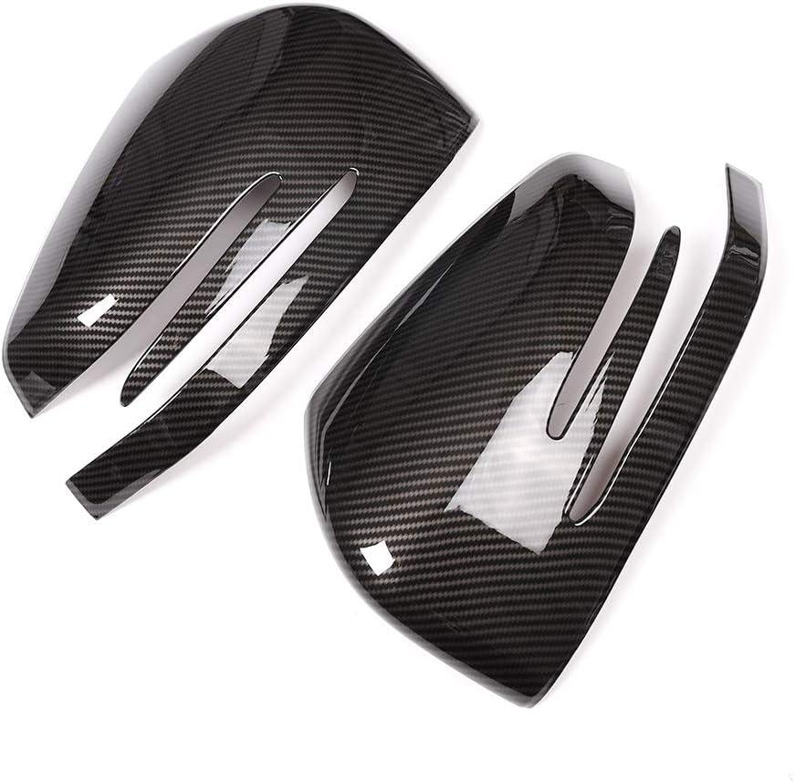 TongSheng Carbon Fiber Style Car Side Rearview Mirror Cover Cap Trim 4pcs for Mercedes-Benz ML GL Class 2012-2016//GLE Class 2015-2017//GLS Class 2015-2017